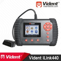 VIDENT iLink440 Four System Scan Tool Support Engine ABS Airbag SRS EPB 3 Years Free Update