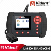 VIDENT iLink400 for (SSANGYONG) Full System OBD2 Diagnostic Scanner Code Reader