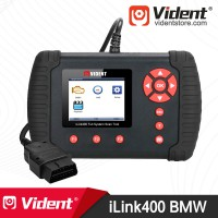 [Ship from US] Vident iLink400 Full-System OBD2 Diagnostic Scanner for (BMW Mini Rolls Royce) Send a BMW 20 PIN to 16 PIN Cable