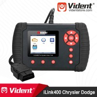 (Ship from US) Vident iLink400 (Chrysler Jeep Dodge) 1996-2019 Full-System Diagnostic OBD2 Scanner