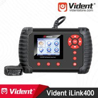 (Ship from US) VIDENT iLink400 Full System OBD2 Bi-directional Scan tool 3 Years Update Online