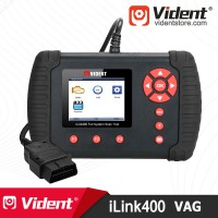 (Ship from US) Vident iLink400 Full System OBD2 Diagnostic and Coding Scan Tool for (VW AUDI SKODA SEAT)
