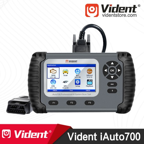 VIDENT iAuto700 Professional All System OBD2 Scan Tool Multi-language Supports More than 76 Cars