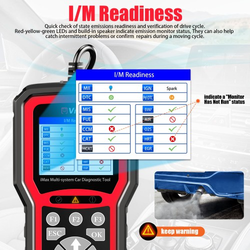 VIDENT iMax4305 OPEL Full System Car Obd Diagnostic Tool for VAUXHALL OPEL Rover Reset OBDII Diagnostic Service