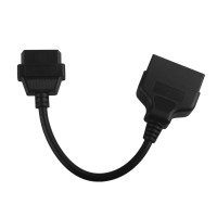 Super TOYOTA 22pin to 16pin OBD1 to OBD2 Connect Cable