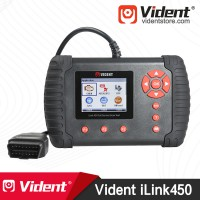 VIDENT iLink450 ABS SRS DPF EPB Battery Configuration Oil Reset Full Service Tool (DHL Free Shipping)