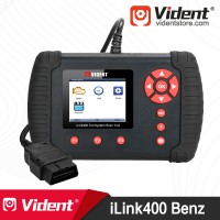 VIDENT iLink400 (Benz Smart Sprinter Maybach) OBD2 Full System Scan Tool Send a Free Benz 38-PIN Cable