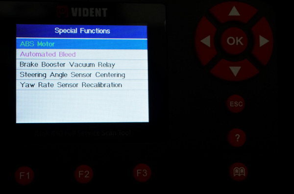 User Experience Of Vident Ilink450 Full Service Scan Tool 11